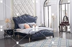 江門純美式大床