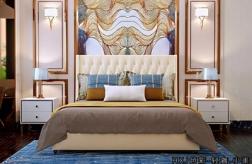 江門輕奢美式高箱床