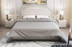 江門極簡歐式大床