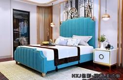 江門極簡美式大床